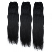10 12 36cm Natural Black(#1b) Straight Indian Remy Hair Wefts Bundle100% Real Human Hair Weft Weaving Hair Extensions,Hair Extension