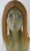 Invisible Lace Closure Natural Brazillian Virgin Remy 100% 30cm Human Hair Colour