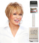 Text-ure Me! Wig by Raquel Welch, 15 Page Christy's Wigs Q & A Booklet, 60ml Travel Size Wig Shampoo, Wig Cap & Wide Tooth Comb colour SELECTED