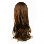 SQdeal 65cm Sexy Long Big Wave Mix Full Volume Curly Wavy Wig W/ Long Bang Women's Girl Hot Full Hair Wig s Cosplay Costume Party Anime Wigs