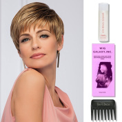 Page Turner by Gabor by Gabor, 60ml Travel Size Wig Shampoo, Wig Galaxy Hair Loss Booklet, & Wide Tooth Comb (Bundle - 4 Items), Colour Chosen