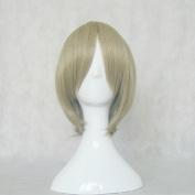 Cheers!! Cheer Danshi!! Tokugao Shyo Tea 35cm Cosplay Wig + Free Wig Cap