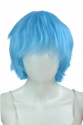 EpicCosplay Apollo Baby Blue Shaggy Wig for Spiking