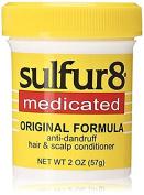 Sulfur8 medicated original formula anti-dandruff hair and scalp conditioner