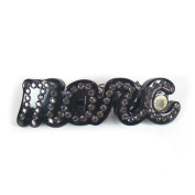 Marc by Marc Jacobs MARC Script Large Hair Barrette, Black