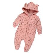 Efaster(tm) Baby Boy Girl Winter Zipper Hoodie Romper Warm Coat Outwear Clothes