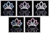 XICHENBaby Girls Crown Headband Newborn Princess Head Band Headdress Elastic Hair Band