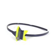 Marc by Marc Jacobs Big Charms Star Headband, Fluoro Lime Multi