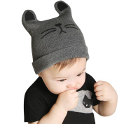 Datework Baby Knitted Cat Ear Beanie Winter Warm Hat