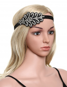 Babeyond Women's Crystal Headband 1920s Gatsby Headpiece Flapper Hair Accessories Free Size