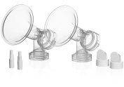 Pumpables Original Breastshield Set - 30mm [Double Pack] - Use With All Spectra Breast Pumps incl Spectra Dew 350, S1, S2, S9+, M1 Also Compatible Medela Pumps