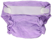 Imagine Baby Products Rayon From Bamboo Fitted Hook and Loop Nappy, Lilac