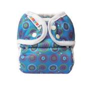 Bummis Duo-Brite AI2 Nappy Wrap, Blue, Size 2