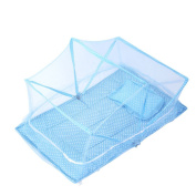 CUTI Breathable Baby Summer Beach Tent Instant Crib Mosquito Canopy Foldable Netting Cover