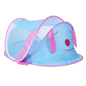 CUTI Pop-Up Baby Mosquito Tent Travel Infant Bed Folding Playpen for Outdoor Picnic