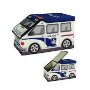 ARTSMAX Children Toy Storage Box With Lid Car-Shaped Storage Cube Storage 40 × 23 × 23CM