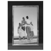 Malden Uptown Black with Silver Fashion Metal Frame, 10cm by 15cm