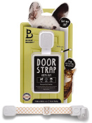 Door Buddy Door Latch to Dog Proof Litter Box. Convenient Cat and Adult Entry into Room. Adjustable Strap. Easier than Installing Cat Doors or Using Pet Gates. Stop Dog from Eating Cat Poop Today!