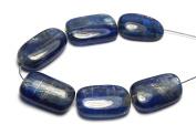 6 pcs BLUE KYANITE 18-21mm Nugget Beads NATURAL /N7