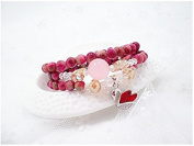 Fashion cat Natural Jade agate crystal female Hand Jewellery Cute monkey swan beads bracelet