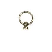 1.6cm Ball Post & O-Ring - Rivet Back - 10 Pack
