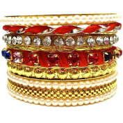 Classic Fashion Big Size Bangle 18K Gold Plated Charm Women Brand Bracelets Bangles