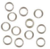 Sterling Silver 20 Ga 3.5 MM Open Jump Ring (Saw Cut) By Modern Findings