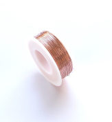 30 Ga Solid Copper Wire 90ml - 200m Spool (Half Hard) Jewellery,Craft & Hobby Wire