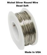 Modern Findings 18 Ga Nickel Silver Round Wire Dead Soft 15m Spool