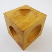 Jewellers Tools Watch Jewellers Dapping Block Wooden Wood Holes Lines Doming Forming Tool 5.1cm