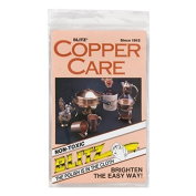 Blitz 21028 Copper Care Cloth-Single-Ply, Treated, 2 Pack