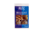 Blitz 21025 Brass Tarnish Eater Cloth-Single-Ply, Treated, 2 Pack