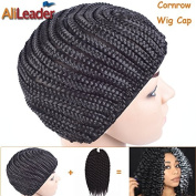 5Pcs Black Newly Cornrows Wig Caps For Making Wigs Glueless Hair Net Crochet Braid Wig Caps from AliLeader