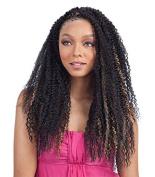 ISLAND TWIST BRAID 50cm (1B Off Black) - Freetress Synthetic Braiding Hair