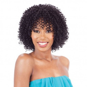 Model Model Malaysian Human Hair Blend Wig - Terra-1B