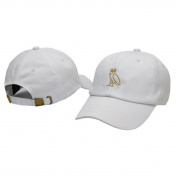 Sport Cap, HP95(TM) Fashion Simple Embroidery Cotton Baseball Cap Boys Girls Owl Sports Hat Adjustable