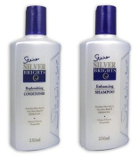 Combo! Steiner Silver Brights Purple Toning Shampoo & Conditioner *Blonde* Silver *Grey