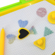 Sandistore Kid Colour Magnetic Writing Painting Drawing Graffiti Board Toy Preschool Tool