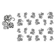 Meidus Tattoo Fashion Watermark Fingernails Decals Nails Art Sticker No.1