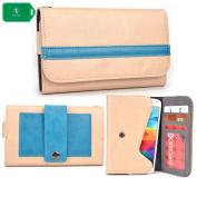 Phone case wallet w/attached belp clip fits HTC Desire 612,Desire 616,Desire 616 dual sim, Desire 626,Desire 626G+, Desire 626s,Desire 700 Dual Sim