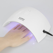 Portable 24W LED UV Curing Lamp Dryer for Nail Gel,Nail Dryer, Nail Tools Home Use and Personal Use