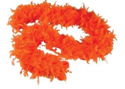1.8m Adult Party Costume Decoration Feather Boa Orange