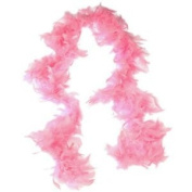 1.8m Adult Party Costume Decoration Feather Boa Pink