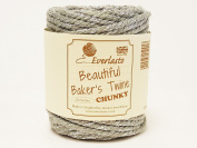 Beautiful Chunky Grey & Silver Sparkle 20m Spool of Baker's Twine by James Lever 'Everlasto'