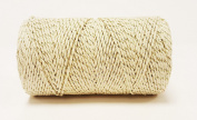 Quality Cotton Ivory & Gold Sparkle Baker's Twine 100m by James Lever 'Everlasto'