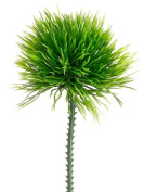 15cm Moss Grass Pick Green