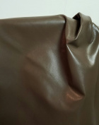"Taupe Grey olive 4-0.6sqm Soft 1.5-60ml glazed kidskin goat skin Upholstery garment footwear shoe Genuine Leather Skin Hide Tooling Crafting (50cm x 20"")"