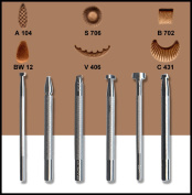 Springfield Leather Company's Basic 6 Carving Tool Set