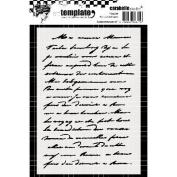 Carabelle Studio Template A6-Handwritten Text