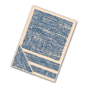 Tattered Lace Set of 4 Embossing Folders --Burlap EF112